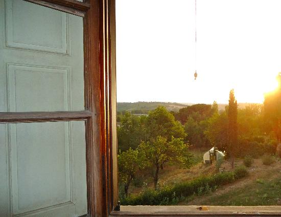 Fattoria Bassetto: view from my window!