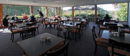 Olive Tree Leura Restaurant: Overlooking gardens/golf course