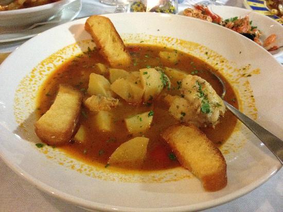 Zuppa con rana pescatrice e patate praticamente un piatto unico picture of san vito a tavola - San vito a tavola ...