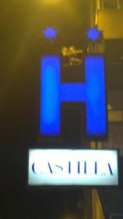 Letrero Hostal Castilla