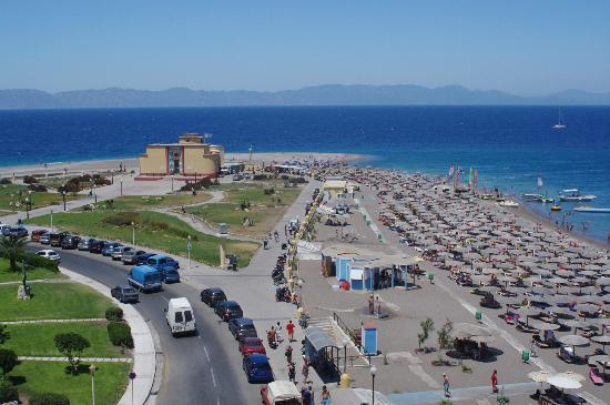Elli Beach: Towards Turkey