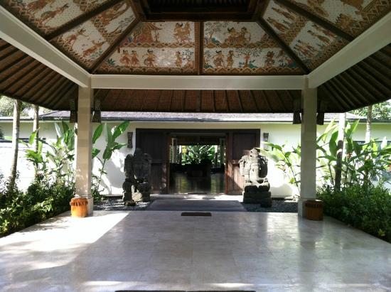 Pandawas Villas: Entrance