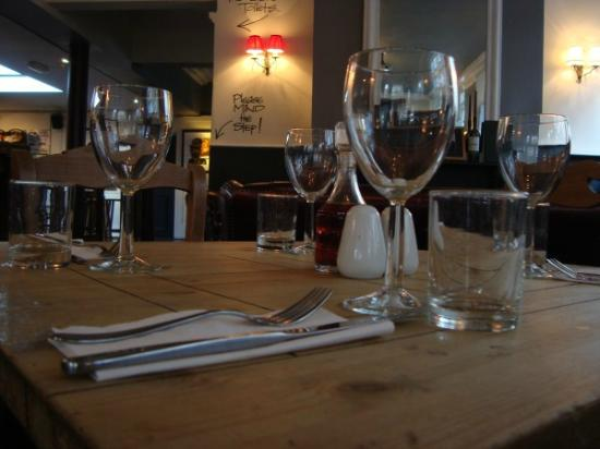 The Bowler Pub and Kitchen : Table Set up
