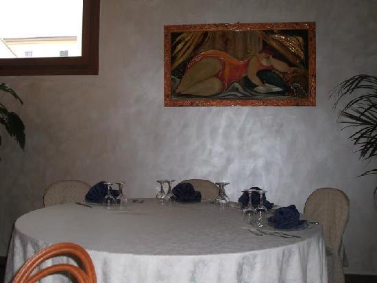 Il Gambero: sala
