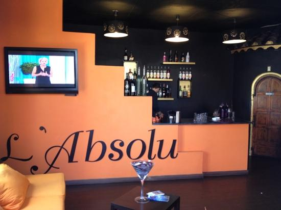 L'Absolu: le bar