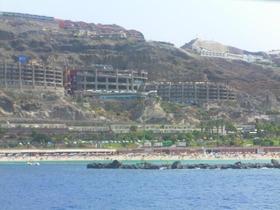Amadores Beach Club : view of our apartment from a boat trip
