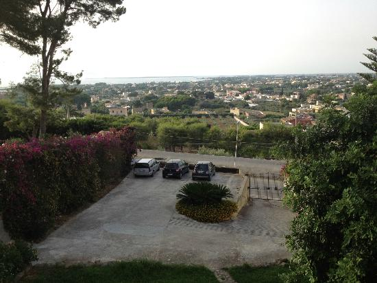 Villa Sparta: Panorama dalla camera