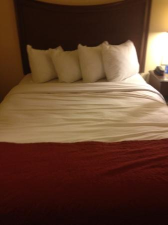 Days Inn Ellis: This bed was very comfy