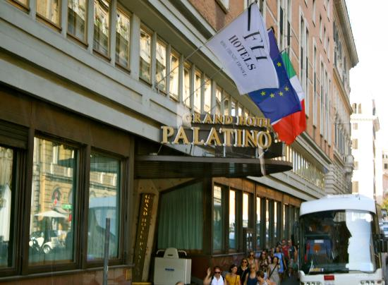 Fh55 Grand Hotel Palatino The Signage