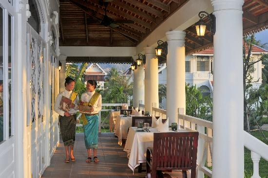 La Belle Epoque at The Luang Say Residence : Terrace