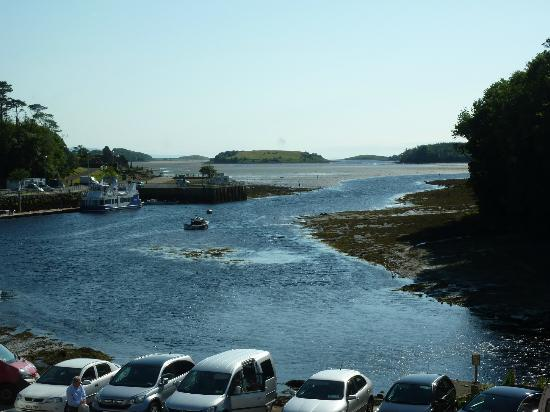 The Central Hotel - Donegal : view from room 166
