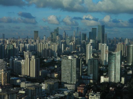 Renaissance Shanghai Zhongshan Park Hotel: View from room facing city centre