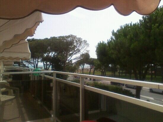 Park Hotel Bertha: vista dal balcone primo piano
