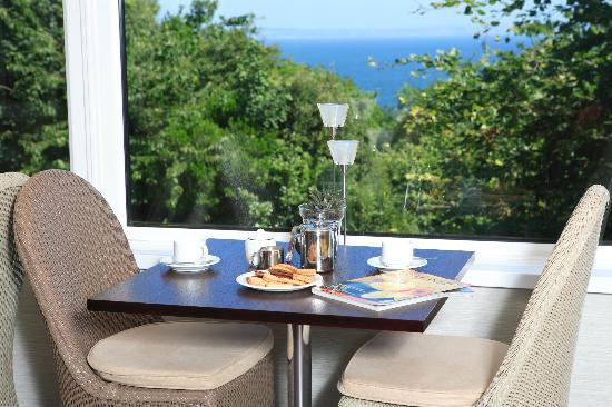 Basil's Brasserie: Enjoy the views...