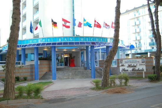 San Michele: entrée de l'hôtel