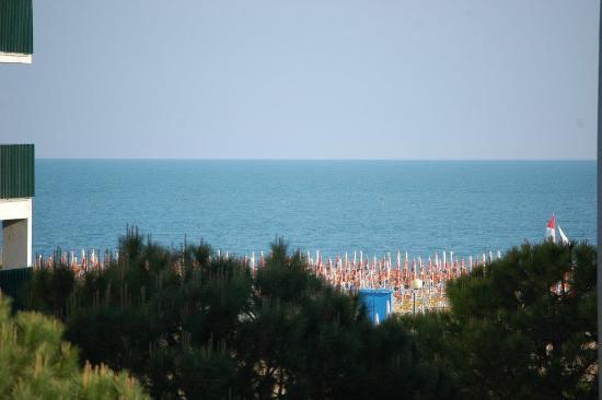 San Michele: vue de ma chambre (2e étage)