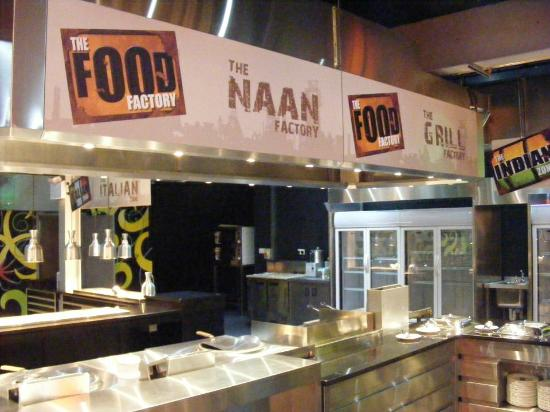 Naan factory and the indian zone picture of the food for Cuisine zone