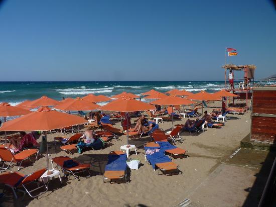 Eden Village Kournas: la spiaggia