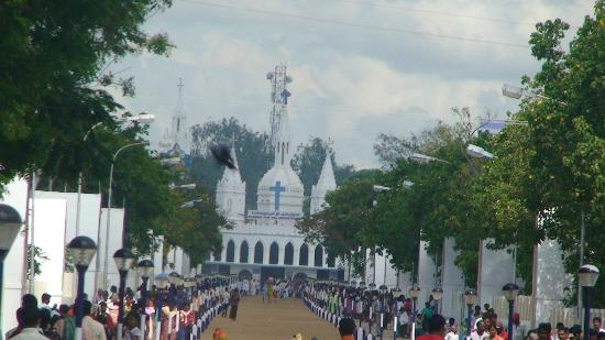 Velankanni, India: Old Church