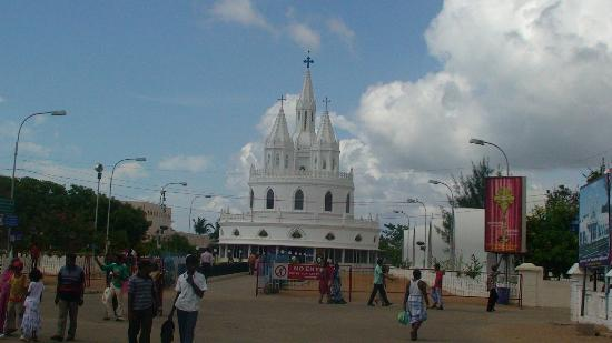 Velankanni, India: New Church 3