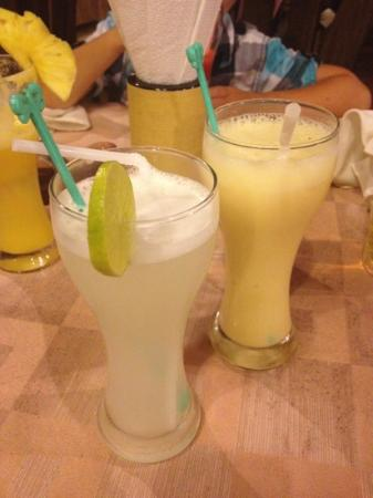 Hoang Vu: Lemon juice and passion lassi