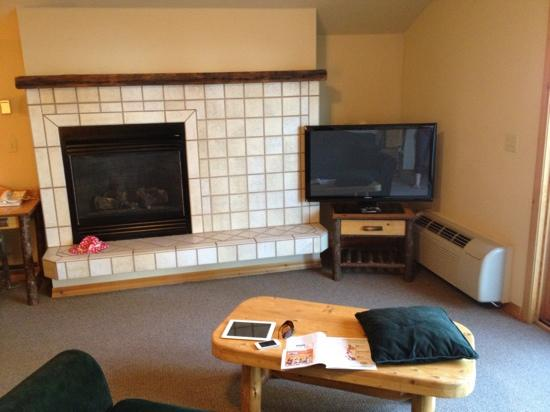 Bigfork Mountain Lake Lodge: living room