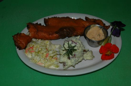 "Wilderness Boundary Restaurant: WBR ""FRY"" Day Night Fish Fry still a big hit on Rodeo Fridays."