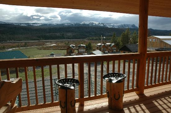 Wilderness Boundary Restaurant: Seating available on The WBR Sunset Deck.