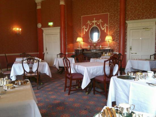 Culloden House: Speisesaal / Frühstücksraum