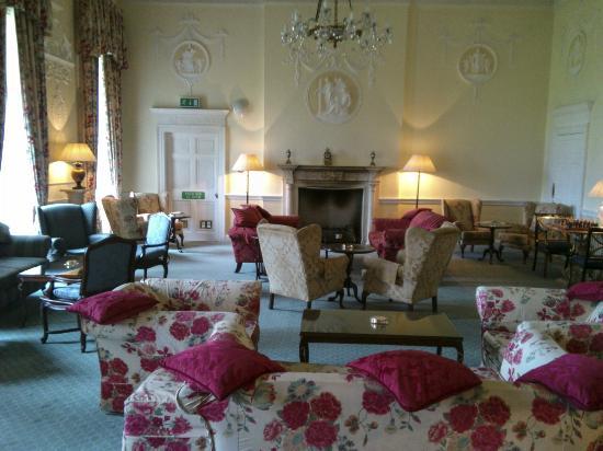 Culloden House: Vorraum zum Speisesaal