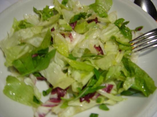menu' da franco ar vicoletto :insalata per 1