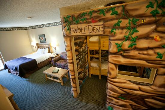 Great Wolf Lodge : Wolf Den Suite