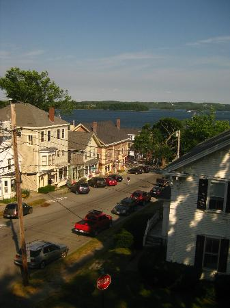 Pentagoet Inn: Third Floor View down Main St