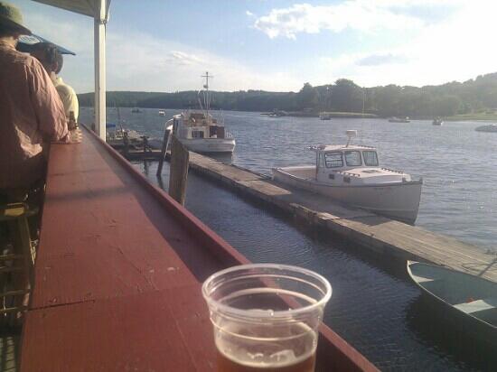 Schooner Landing Restaurant : gorgeous view