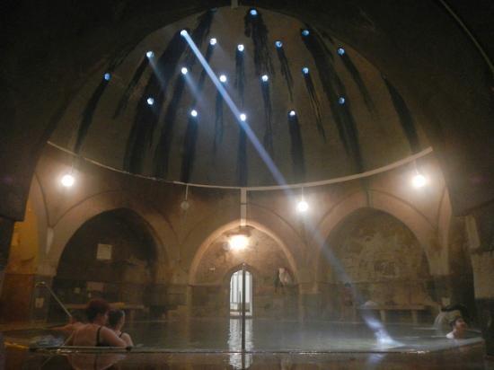 Kiraly Baths main thermal pool