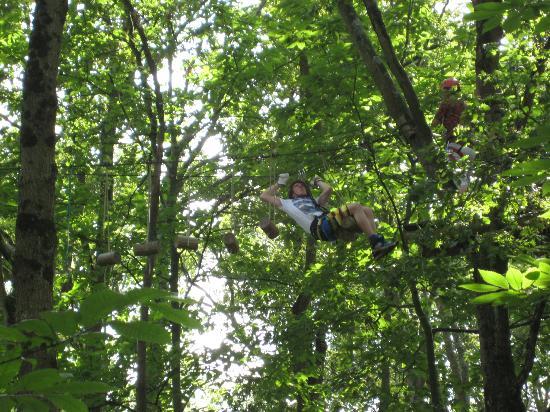 Parc Anjou Aventure : Red run