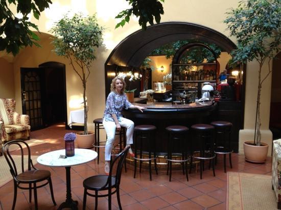 Hotel Konig Von Ungarn: в холе