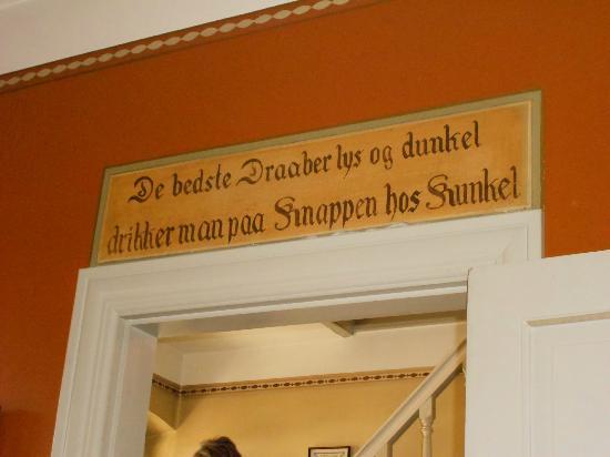 Restaurant Knapp: a traduire, mais c'est juste