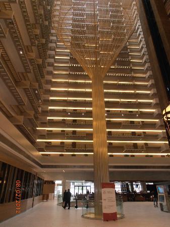 Main Lobby Picture Of Hyatt Regency Atlanta Atlanta