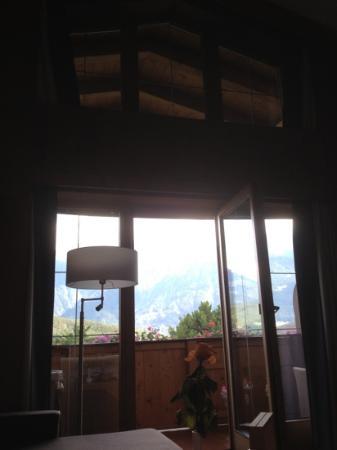 Alpenresort Schwarz : view from room