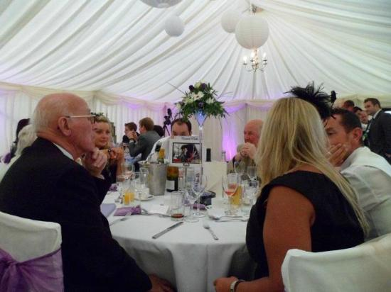The Royal Oak: Wedding Marquee