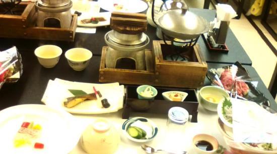 Hitachi, Japan: 夕食・Bコース