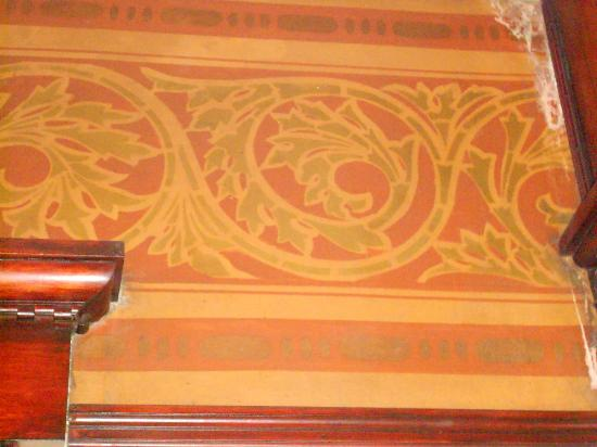 Morgan State House: Hand Painted Scroll Work
