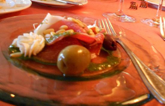 Restaurant Knapp: det var super dejligt, under aperitif
