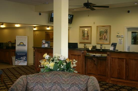 Days Inn Valdosta/Near Valdosta Mall: Lobby Area