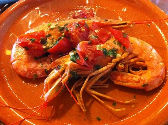 La Cucina di Giuseppina - Italian Cooking School: Giant scampi of the season