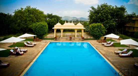 Trident Udaipur: The Pool