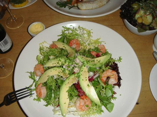 Rose Tree Restaurant : Prawn, Crab and Avocado Salad