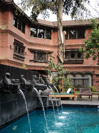 Dwarika's Hotel: Pool area
