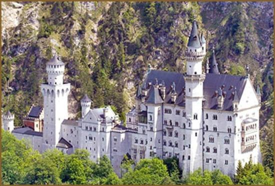 Hotel Steiger : Hotrel Steiger gegenüber Königsschloss Neuschwanstein